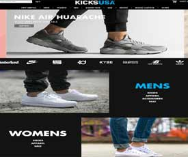 Browse for KicksUSA coupons at GoodShop for purchasing Basketball accessories and outfit. Start making a big difference in your bills, when you purchase product with KicksUSA coupons. KicksUSA is a one-stop shop for everything practical and functional, but of course, stylish and unique.