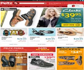 Peltz Shoes Promo Codes for November, Save with 15 active Peltz Shoes promo codes, coupons, and free shipping deals. 🔥 Today's Top Deal: Free Shipping On Most Boots Sitewide. On average, shoppers save $26 using Peltz Shoes coupons from od7hqmy0z9642.gq
