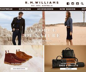 R.M. Williams Promo Codes - 50