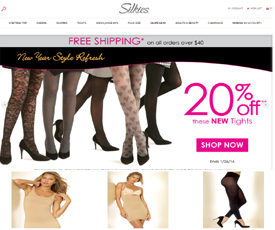 Discount coupons for www.silkies.com