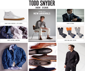 Todd snyder coupon code