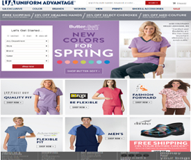 Today we offer you 5 Uniform Advantage Coupons and 20 deals to get the biggest discount. All coupons and promo codes are time limited. Grab the chance for a huge saving before it's gone. Apply the Uniform Advantage Coupon at check out to get the discount immediately. Don't forget to try all the Uniform Advantage Coupons to get the biggest discount.